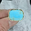 Thumbnail: Turquoise ring (size 6 1/2)