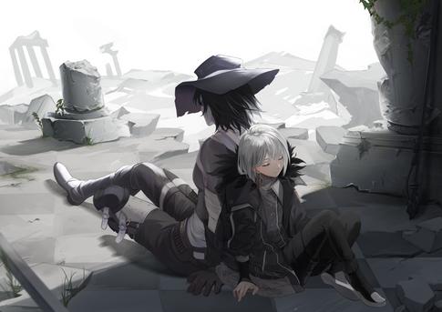 少年と機械兵