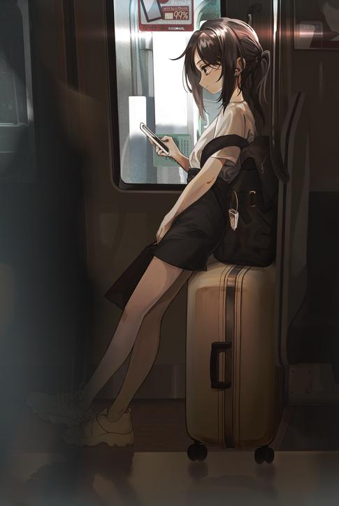 電車で見かけた子