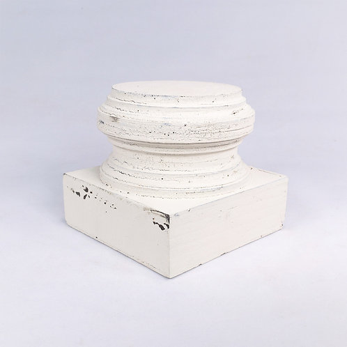 """4 inch Pedestal"" from the Home Accents & Decor Collection at InsidePlannet.com.  Made in USA. Shop @InsidePlannet."