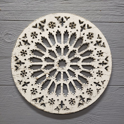 """Rose Window"" from the Wall Accents & Art Collection at InsidePlannet.com.  Made in USA. Shop @InsidePlannet."