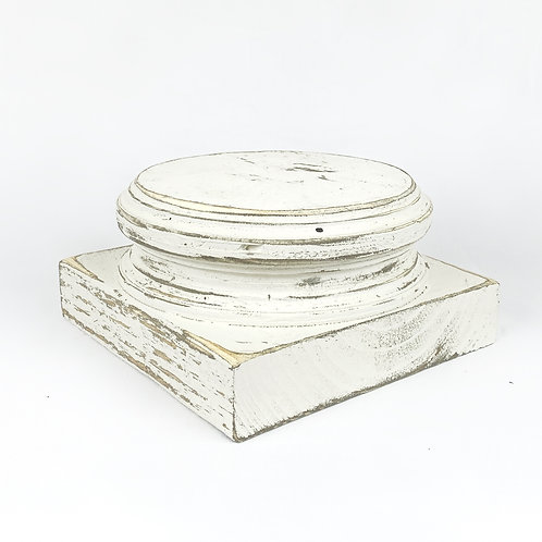 """""""7 inch Pedestal"""" from the Home Accents & Decor Collection at InsidePlannet.com.  Made in USA. Shop @InsidePlannet."""