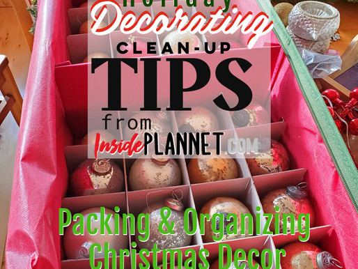 Packing & Organizing Christmas Decor  -  You'll Be Thanking Yourself Next Year!
