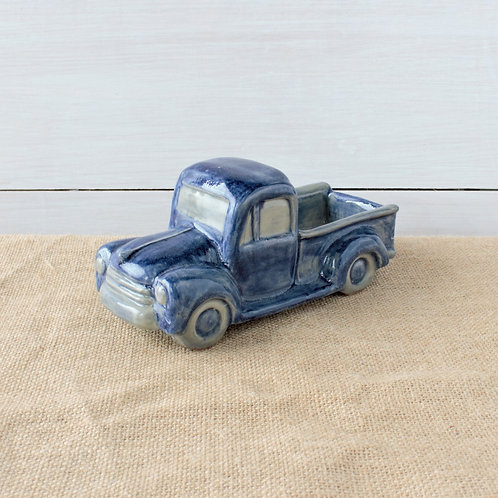 """Vintage Little Blue Truck"" from the Pottery Collection @InsidePlannet.   Made in USA."