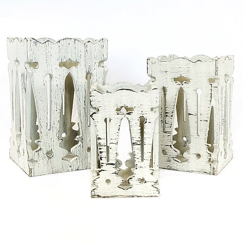 """Baluster Box Set"" from the Home Accents & Decor Collection at InsidePlannet.com.  Made in USA. Shop @InsidePlannet."