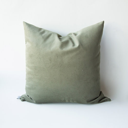 """""""Farmhouse Olive Corduroy Pillow Covers"""" from the Throw Pillow & Blanket Collection @InsidePlannet. Made in USA."""