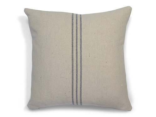 """""""Farmhouse Nine Stripe (Blue) Pillow Covers"""" from the Throw Pillow & Blanket Collection @InsidePlannet.  Made in USA."""