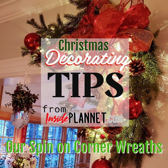 HERE'S OUR SPIN ON CORNER WREATHS