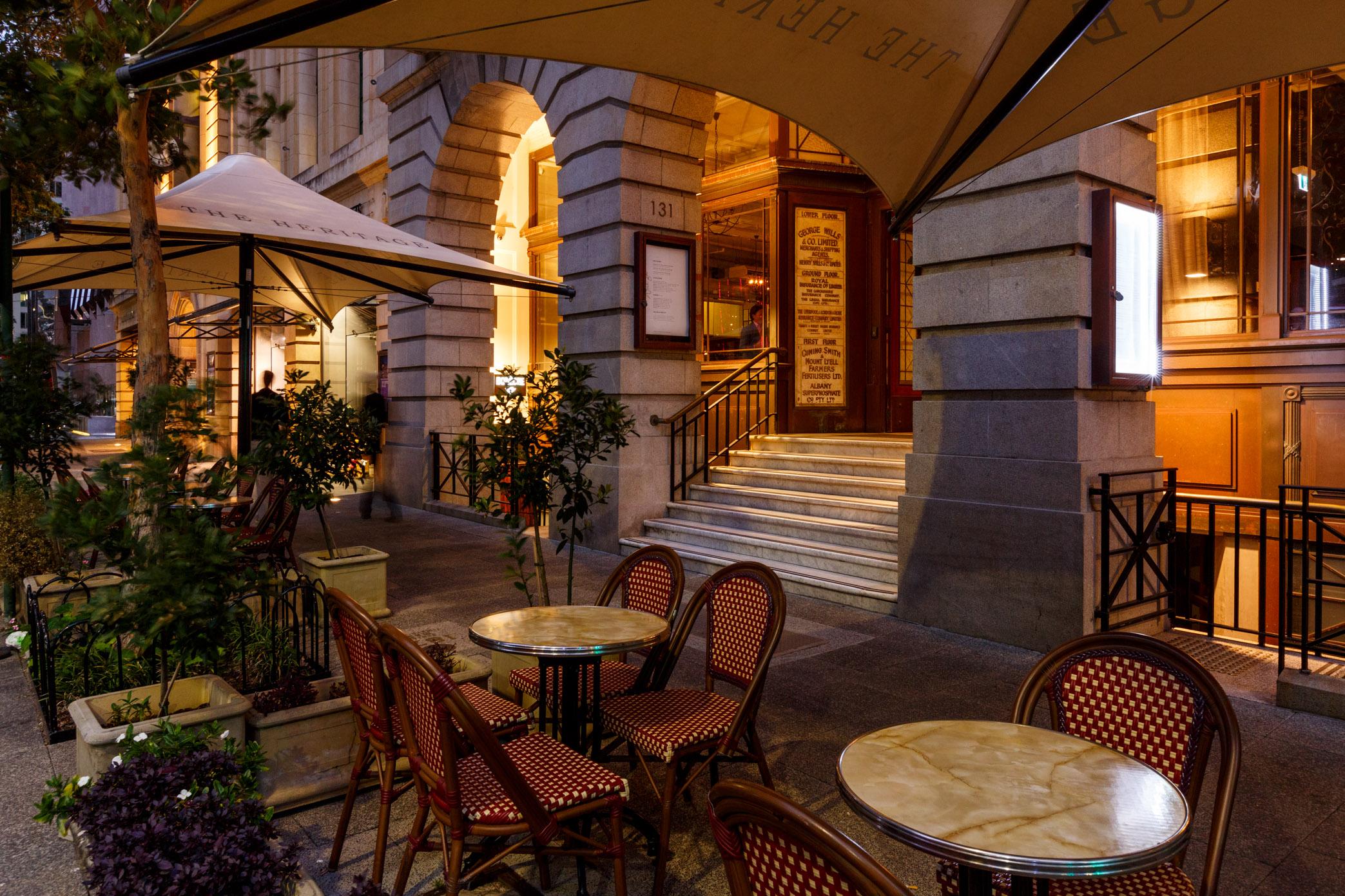 The Heritage Wine Bar Perth Venue