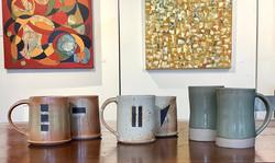 Wallace_stoneware mugs