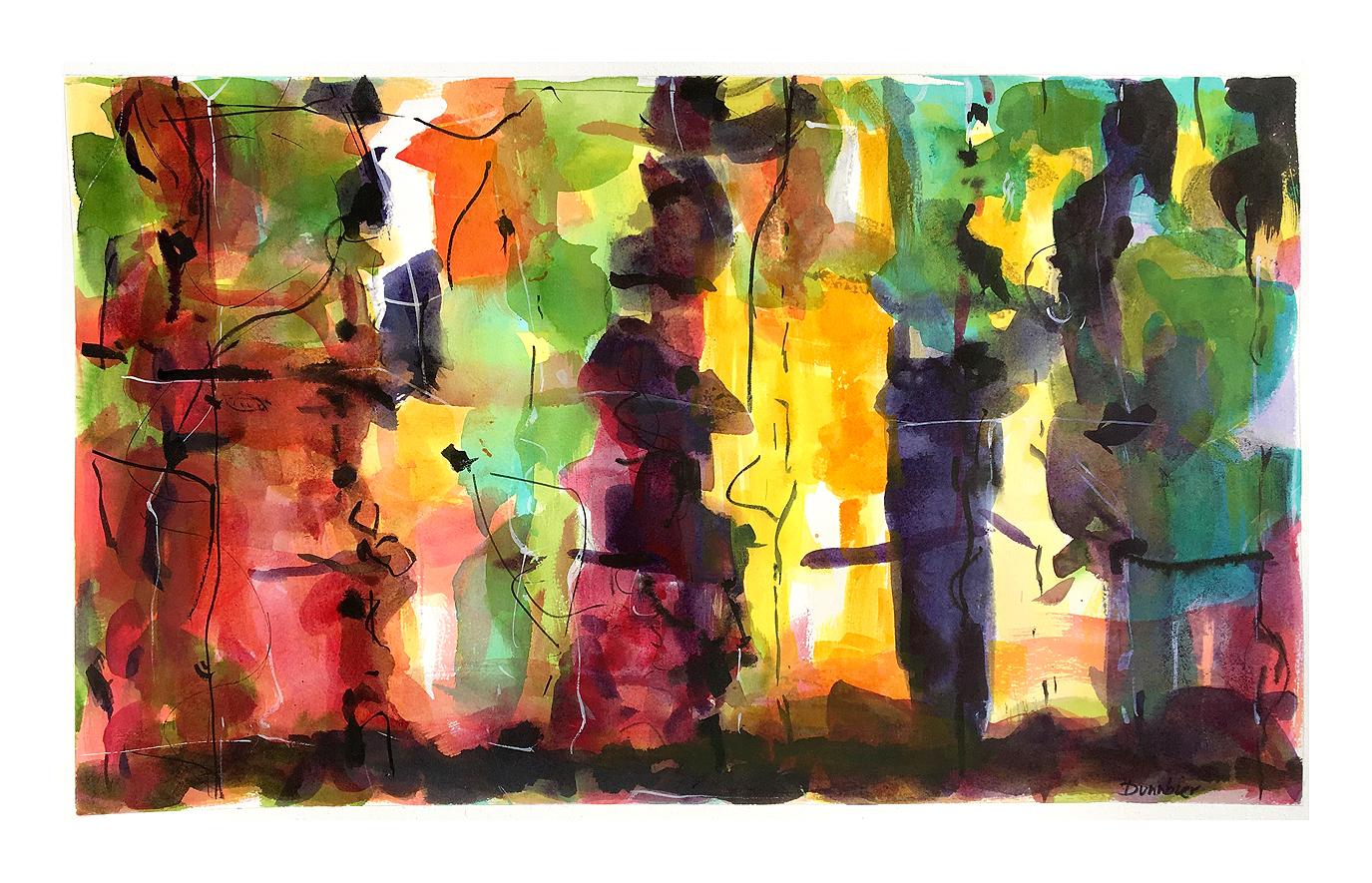 Dunnbier_Tidal Pool 2_watercolor_25x10
