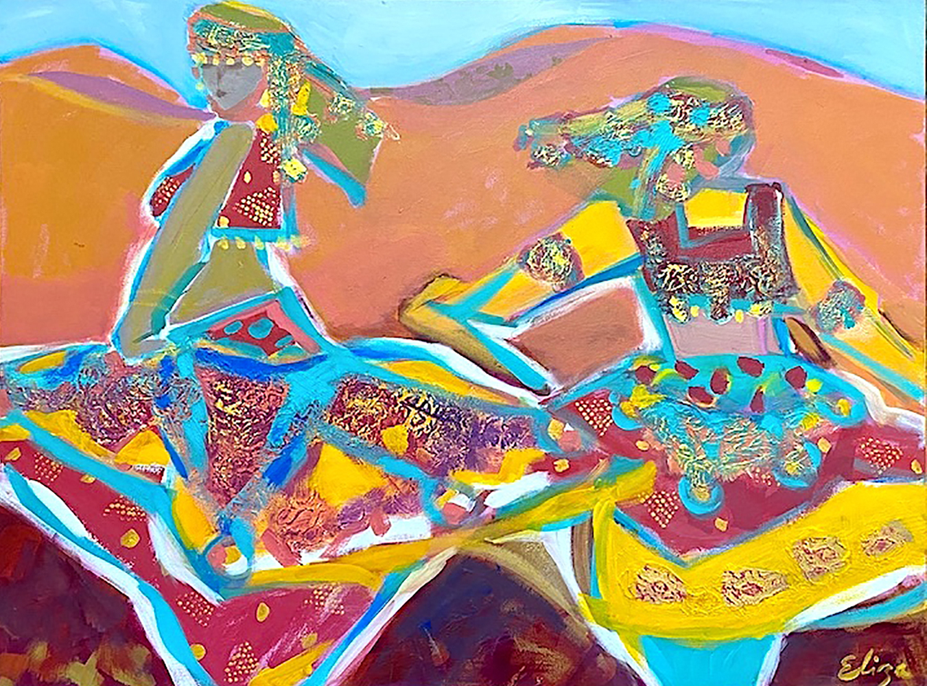 Harty_DesertGypsies_acryl_36x48