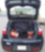Car transport, marimba and bebop kit in