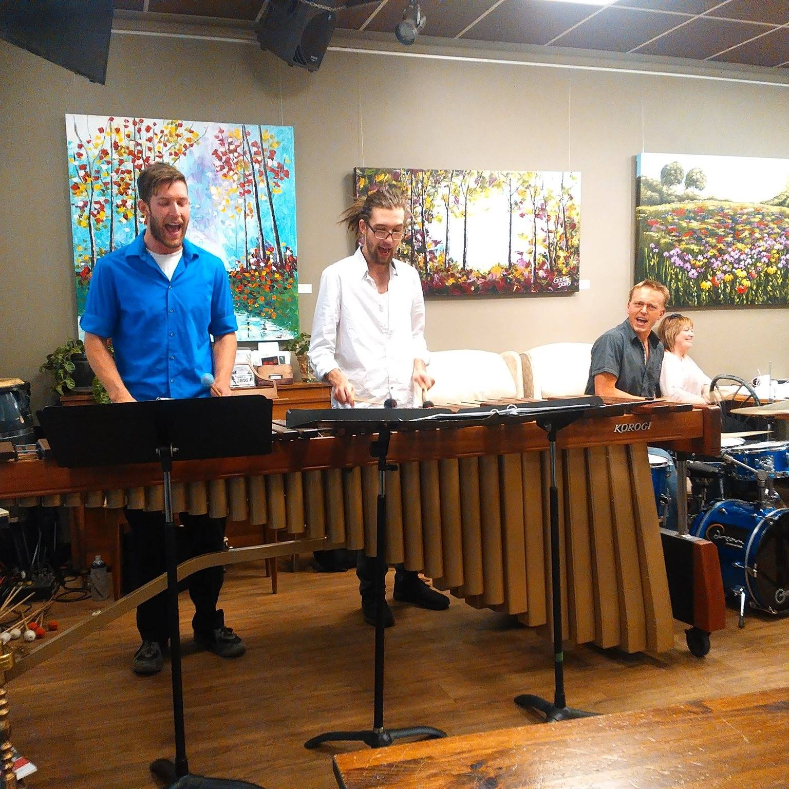 Marimba Band at The Carrot