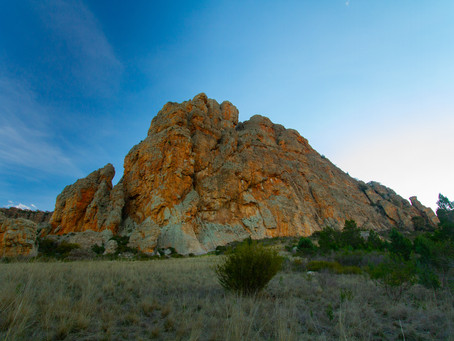 Planned Burn Mt Arapiles 15th May