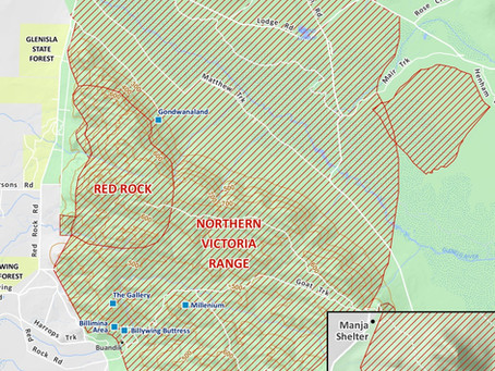 New Grampians SPA Map from Parks Victoria