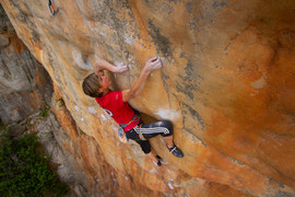 Mayan Smith-Gobat on Punks in the Gym, Mt. Arapiles