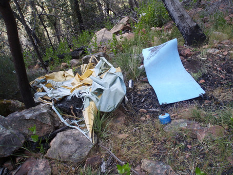 Access Report March: Clean Up Days at Mt Arapiles and The Grampians