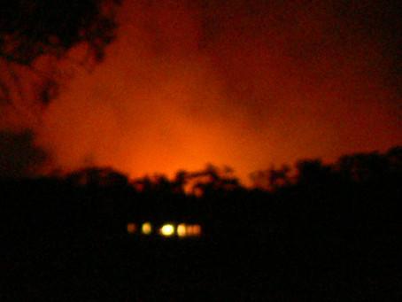 Victorian Fires Jan 2015 affecting climbing areas