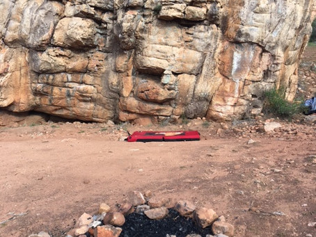 Campfires at Arapiles – Keep it in the campground please