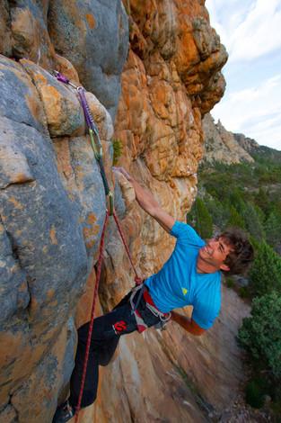 Ben Rueck on Ceila, Mt. Arapiles