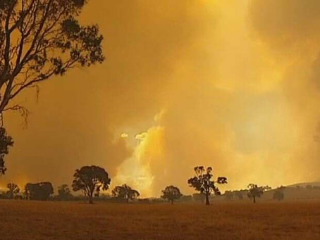 Grampians Fire Updates – Victoria Range Closed-Updated newsletter 25 Feb 2013