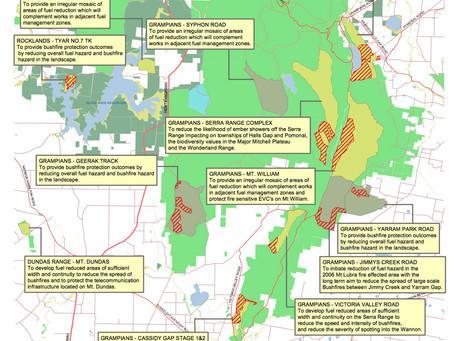 Planned Burns – Mt Arapiles & Grampians National Park