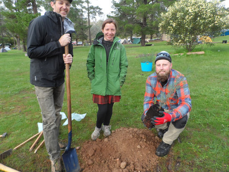 Revegetation Project – Pines Campground & Beyond. The Planting #1