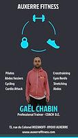 Gaël CHABIN Fiche Coach Diplômé d'ETATAuxerre FITNESS