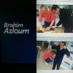 #boxe👊 _brahimasloum la rencontre _Certes, il a été champion du monde et olympique en mi-mouches...