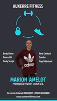 Fiche Maion Amelot Coach Diplômée d'ETAT Auxerre Fitness
