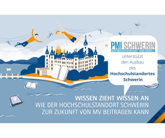 PMI unterstützt Hochschulstandort Schwerin