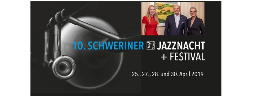Austausch zur 10. Jazznacht: PMI-Vorstand Hans Gerst und Irene Wiens treffen Marianne Wöhrle-Braun