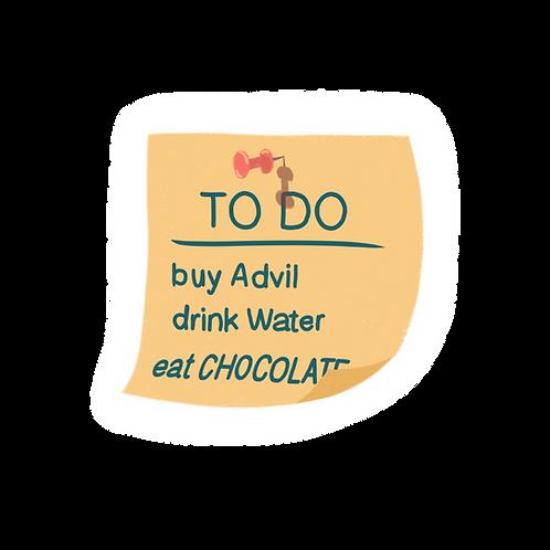 (2) SAPP Period TO DO List Sticker
