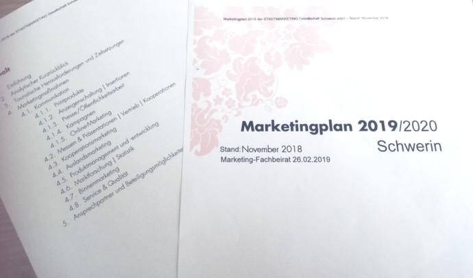 Sondersitzung Marketingplan 2020
