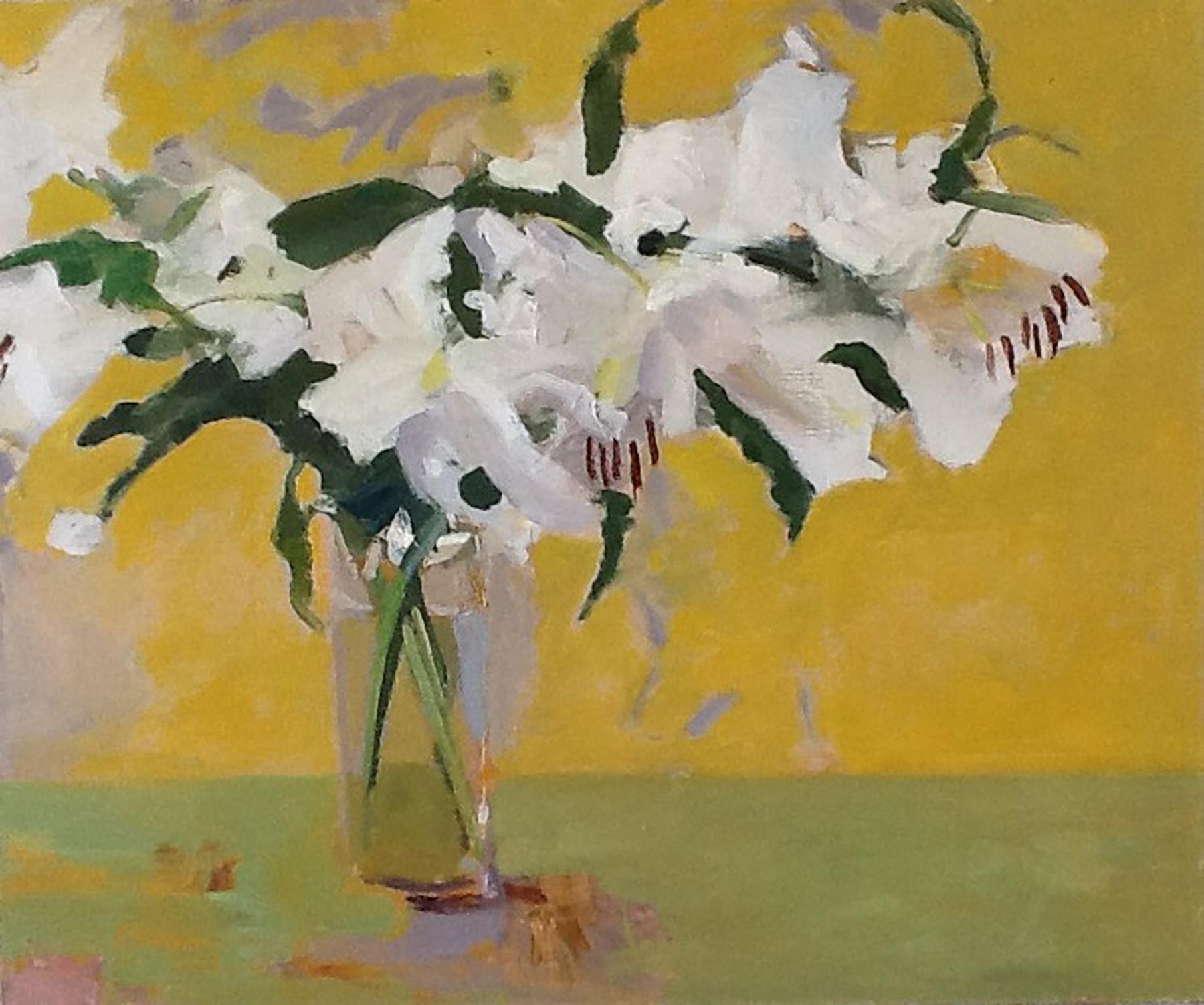 """Jane Timken, artist """"Casa Lillies"""""""