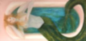 Amanda Swan, _Serene,_ acrylic on canvas