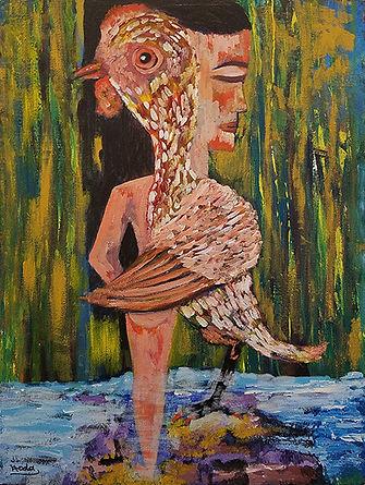 Halfgirl-Hoda Awad-Acrylic-$432.jpg