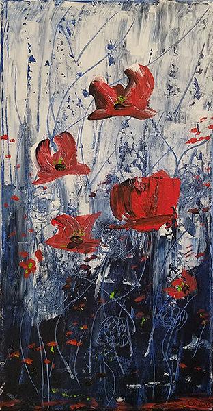 Poppy Uprising-Glenn Cheney-Acrylic-$40.jpg