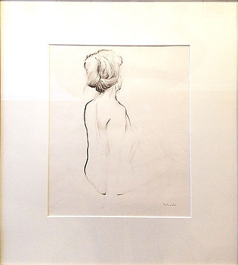 Back Study-Mark Patnode-Graphite on Pape