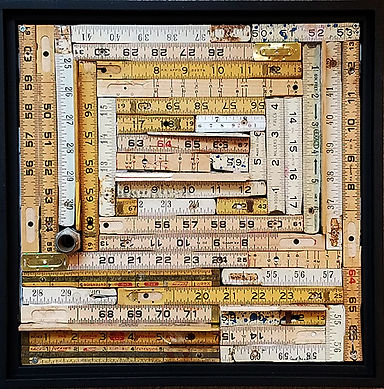 The Space Between-Assemblage-12x12 in fl