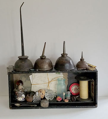 Up in the Attic-Assemblage-15 long 4 dee