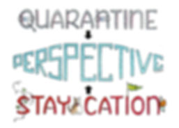 Quarantine Perspective Staycation card M