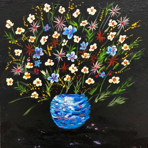10x10 $30 acrylic Night Bouquet.jpeg