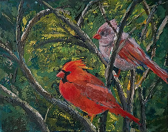 Two of a Kind-Susan Scott Kenney-Acrylic