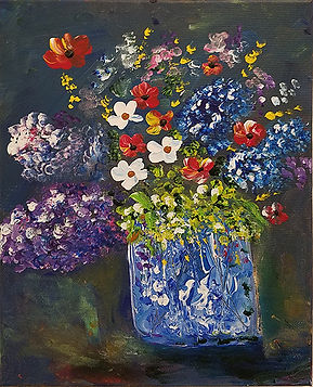 Blue Vase Bouquet-Glenn Cheney-Oil-$60.jpg