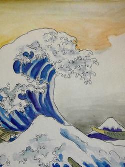 Hokusai's Wave