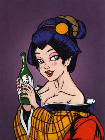 Sake Girl