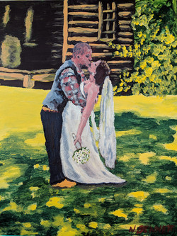 Wedding Couple Acrylics PRIVATE COLLECTION