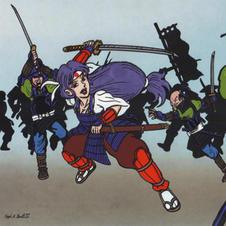Onna-Bugeisha Battle